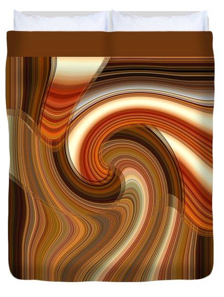 Integral Clarity Duvet Cover
