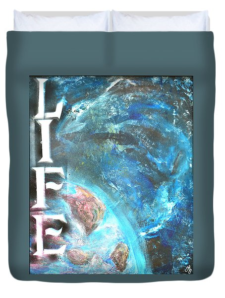 Intelligent Life Duvet Cover