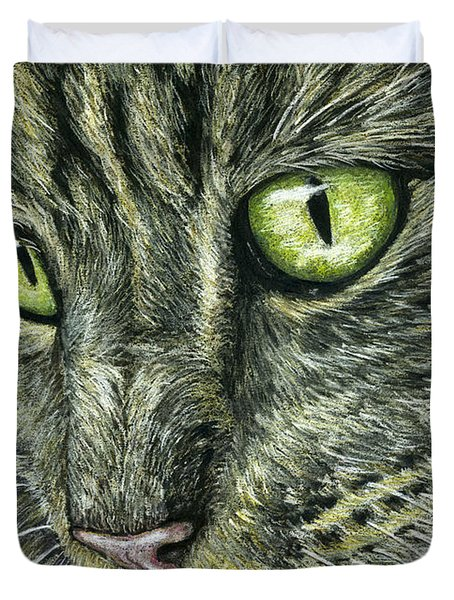 Intense Duvet Cover by Michelle Wrighton