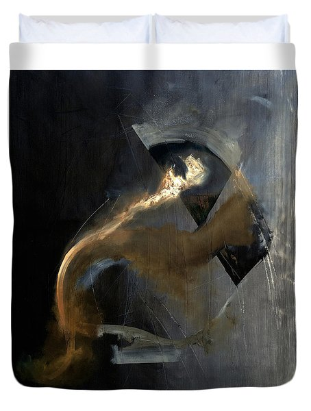 Intensity Duvet Cover by Antonio Ortiz