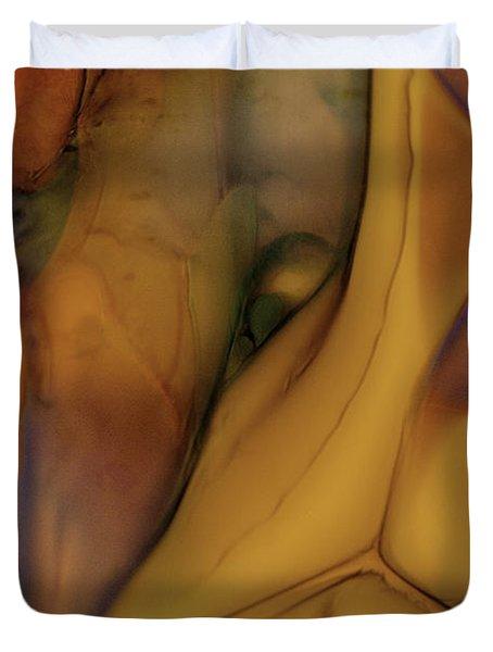 Intensity In Glass Duvet Cover by Omaste Witkowski