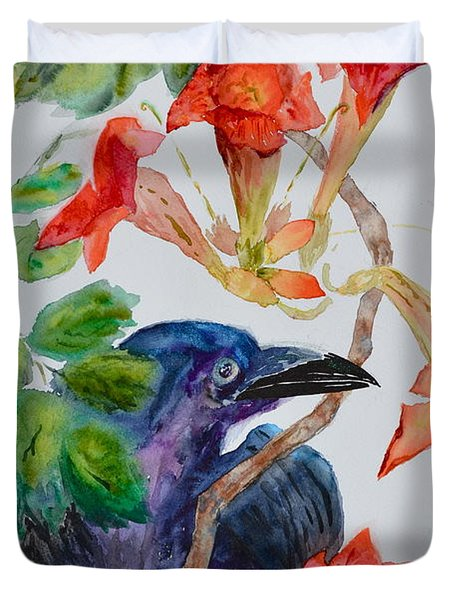 Intent Duvet Cover by Beverley Harper Tinsley