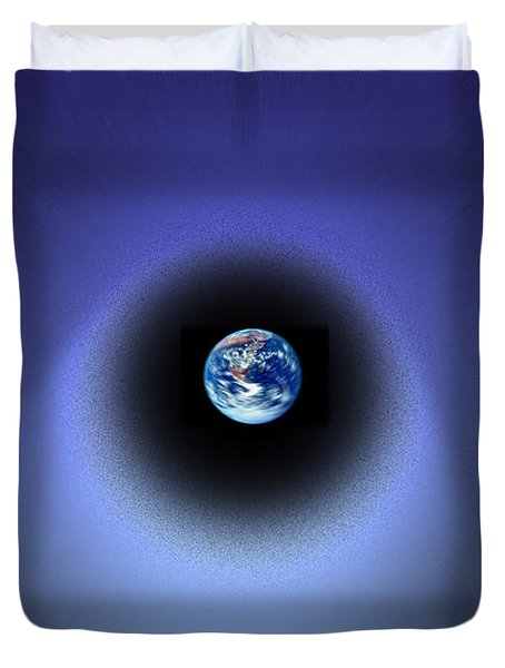 Inter-dimensional Duvet Cover