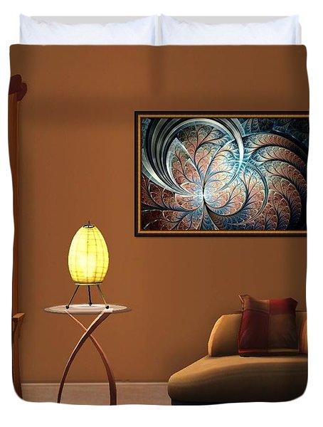 Interior Design Idea - Metal Forest Duvet Cover by Anastasiya Malakhova