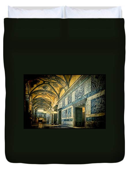 Interior Narthex Duvet Cover