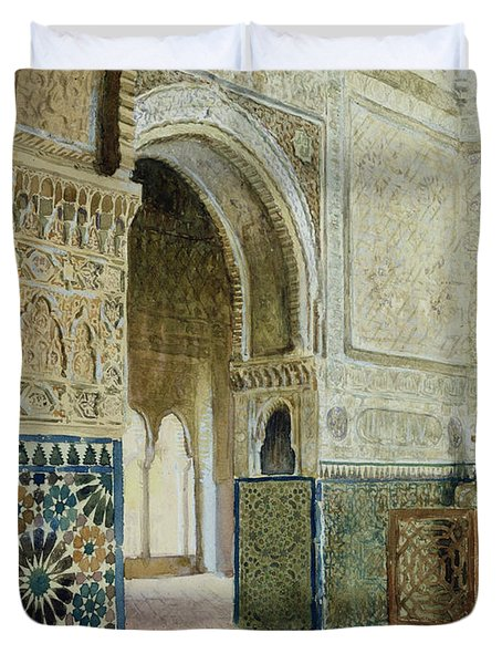 Interior Of The Alhambra  Duvet Cover