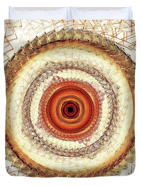 Internal Target Duvet Cover by Anastasiya Malakhova