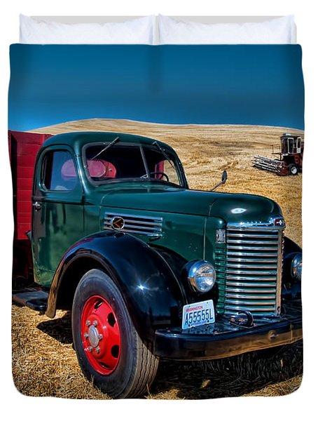International Farm Truck Duvet Cover