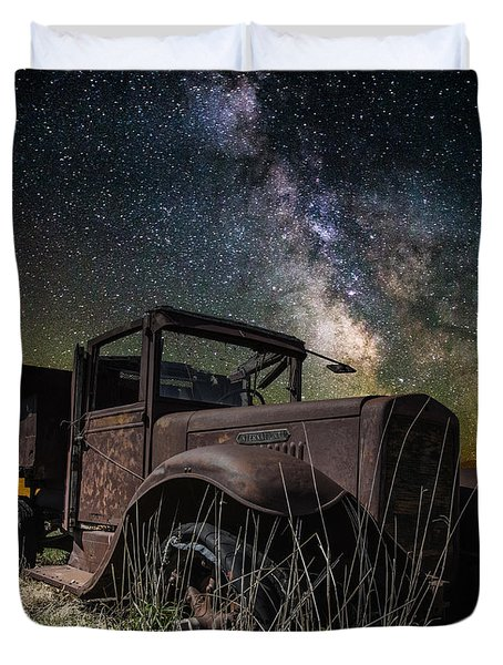 International Milky Way Duvet Cover