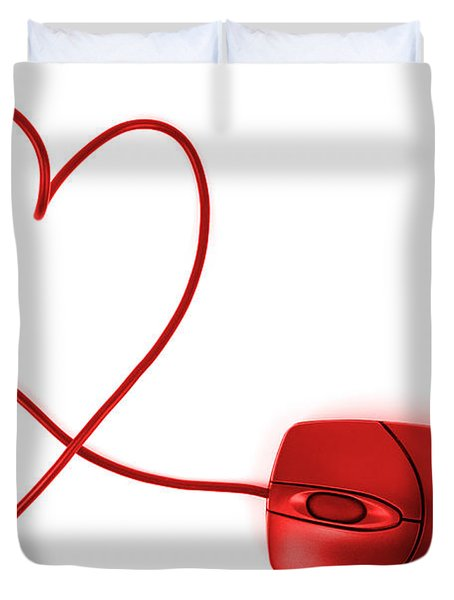Internet Love Duvet Cover