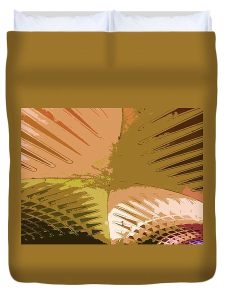 Intersection Duvet Cover by Julio Lopez