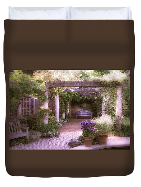 Intimate English Garden Duvet Cover