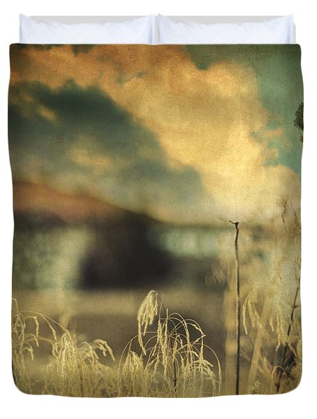 Into Deep Sleep Duvet Cover by Taylan Apukovska