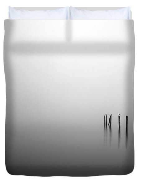 Into The Abyss Duvet Cover by Grant Glendinning