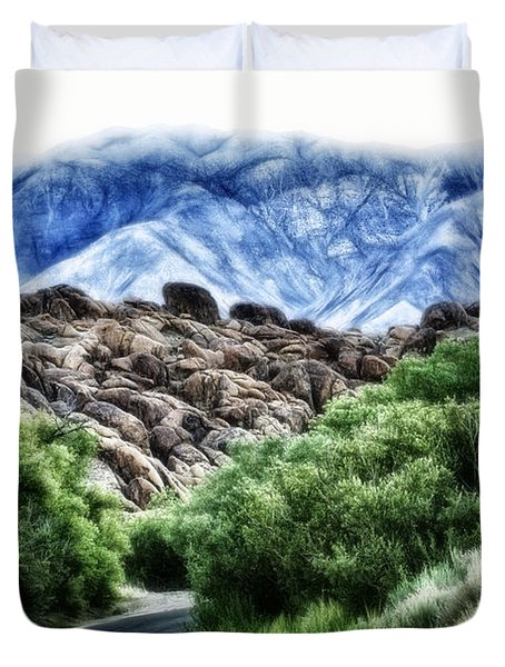 Into The Alabamas Duvet Cover