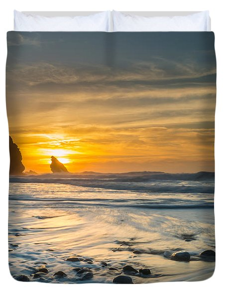 Into The Blue I Duvet Cover by Marco Oliveira