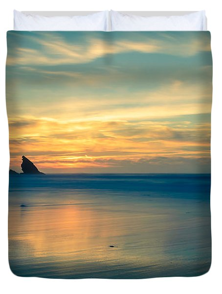 Into The Blue IIi Duvet Cover by Marco Oliveira