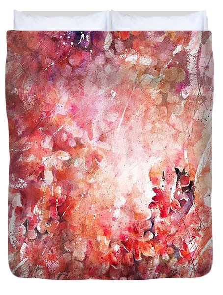 Into The Enchantment Duvet Cover by Rachel Christine Nowicki