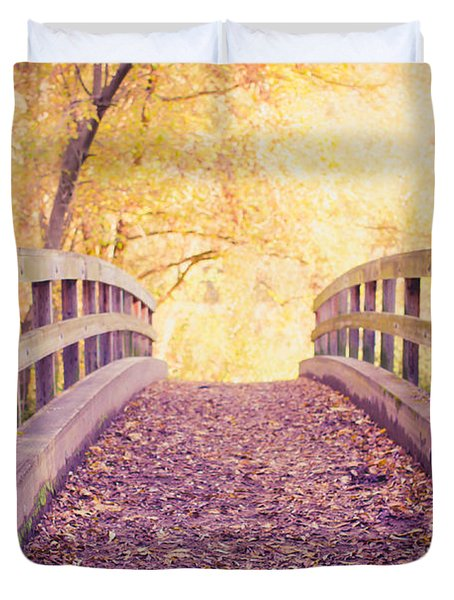 Into The Light Duvet Cover