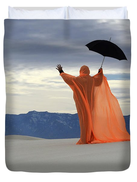 Into The Mystic 3 Duvet Cover by Bob Christopher