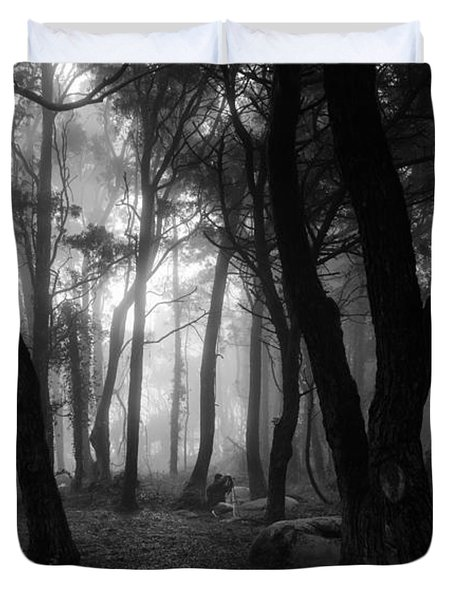 Into The Mystic Duvet Cover by Marco Oliveira
