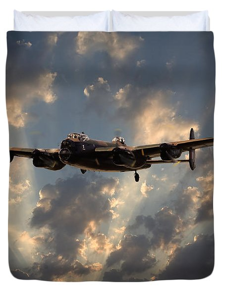 Into The Night Duvet Cover