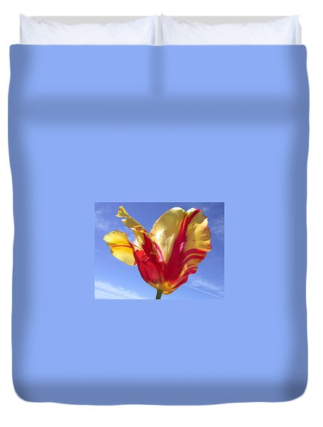 Into The Sky Duvet Cover