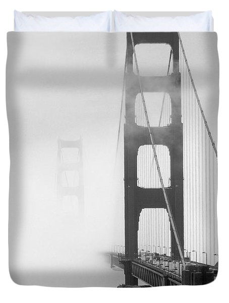 Into The Unknown Duvet Cover by Mike McGlothlen