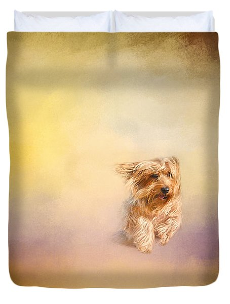 Into The Wind Duvet Cover by Jai Johnson