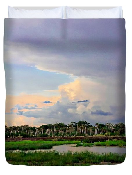 Intracoastal Colours Duvet Cover