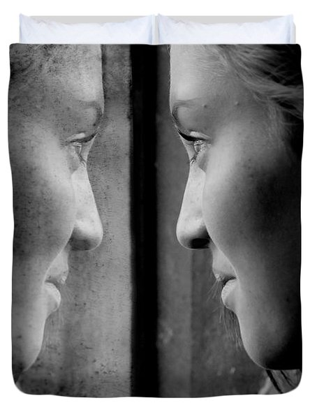 Introspection Duvet Cover by Lisa Knechtel