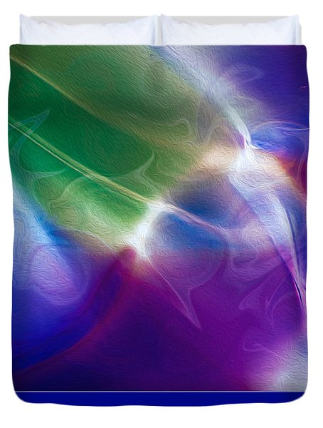 Intuition And The Thinking Mind Duvet Cover by Omaste Witkowski