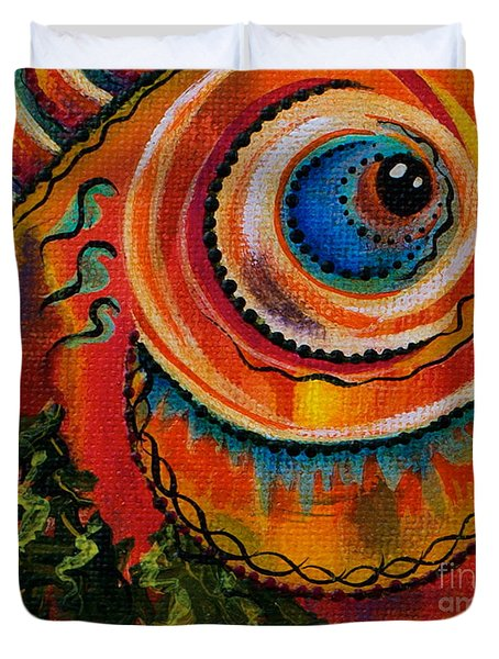 Intuitive Spirit Eye Duvet Cover