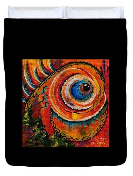 Intuitive Spirit Eye Duvet Cover by Deborha Kerr