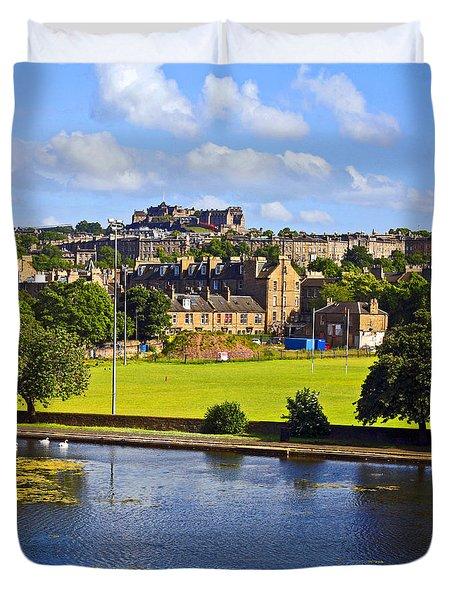 Inverleith Park Edinburgh Duvet Cover