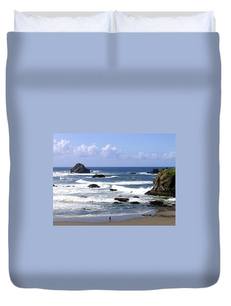 Invigorating Sea Air Duvet Cover