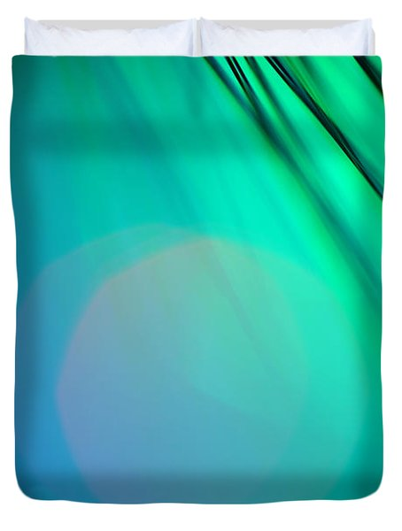 Invisible Sun Duvet Cover