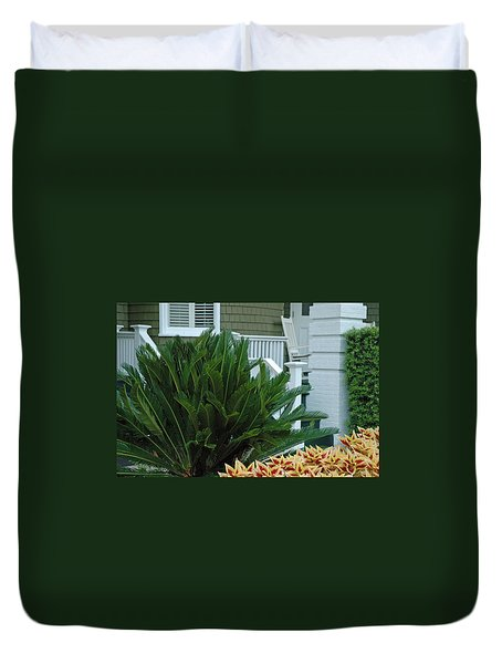 Inviting Front Porch Duvet Cover