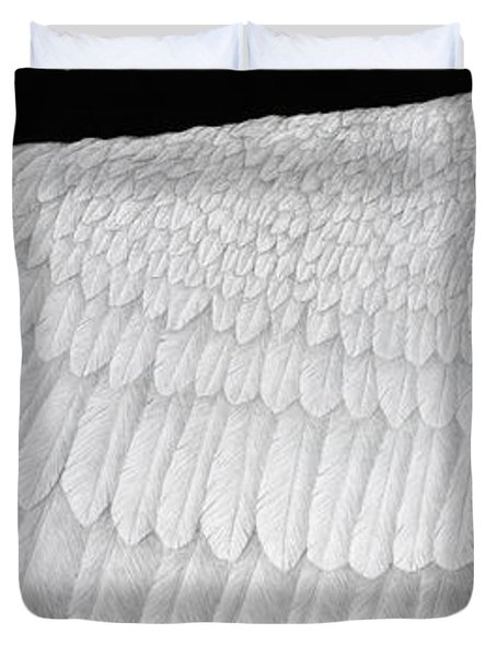 Inward Flight Duvet Cover by Pat Erickson