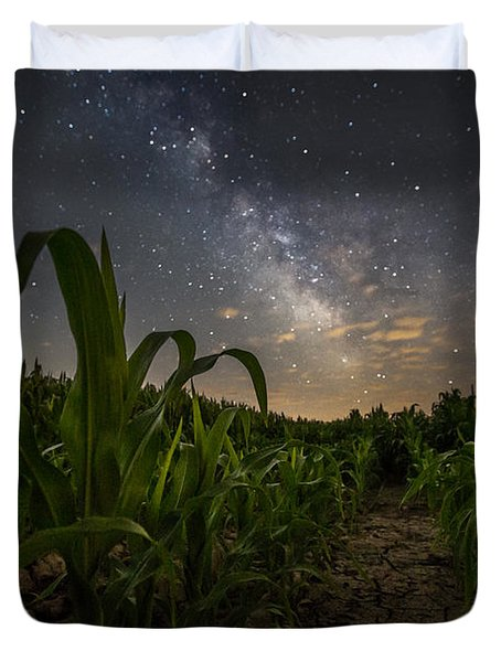 Iowa Corn Duvet Cover