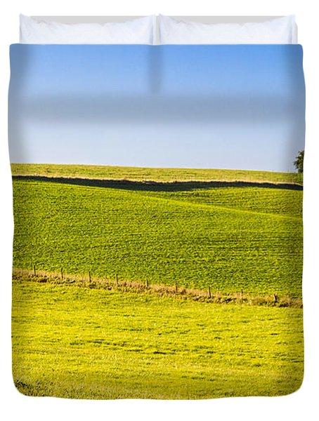 Iowa Farm Land #2 Duvet Cover