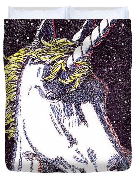 iPhone-Case-Unicorn-2 Duvet Cover