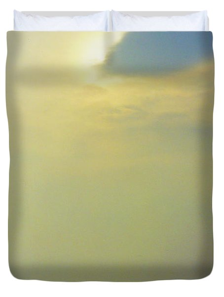 Ireland Giant's Causeway Ethereal Light Duvet Cover by First Star Art