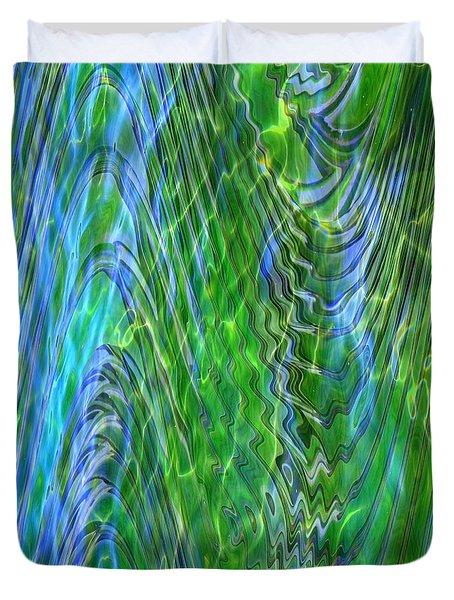 Iridescence Duvet Cover by Carol Groenen