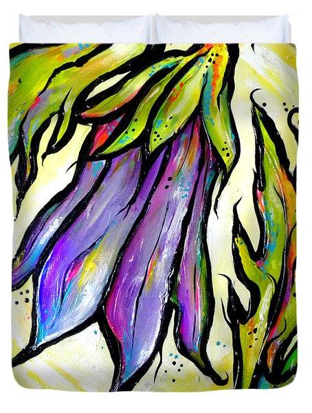 Iridescent Bell Duvet Cover