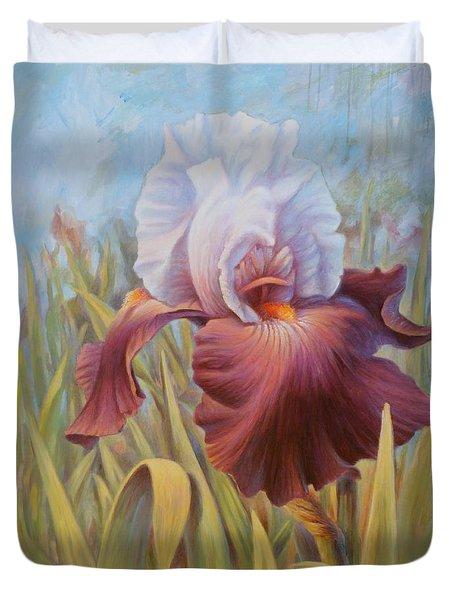 Iris 2 Duvet Cover by Hans Droog