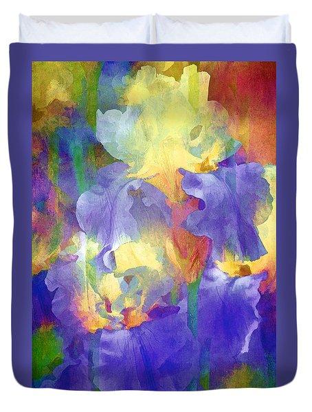 Iris 66 Duvet Cover by Pamela Cooper