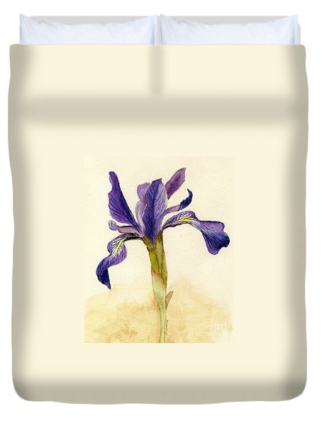 Iris Duvet Cover by Barbie Corbett-Newmin