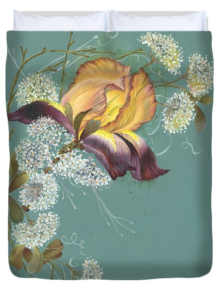Iris Garland Duvet Cover