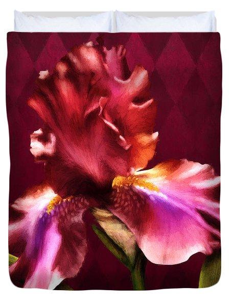Iris I Duvet Cover